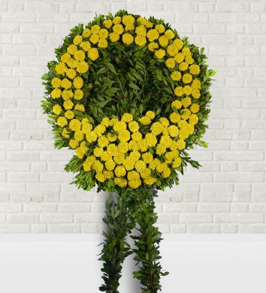 Sarı Zinya Cenaze Çelengi